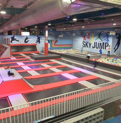 פארק הטרמפולינות SKY JUMP רעננה