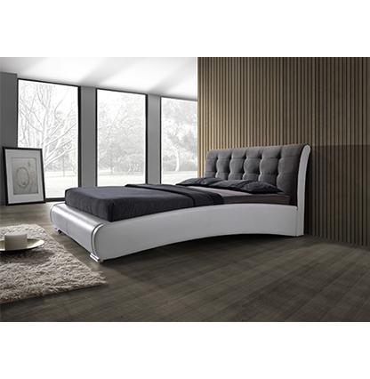 מיטה זוגית מרופדת 160 HOME DECOR