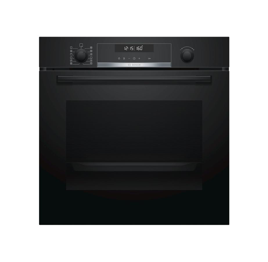 תנור בילד אין פירוליטי שחור BOSCH
