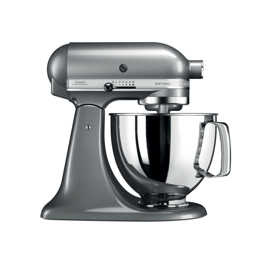 מיקסר מקצועי כסוף KitchenAid
