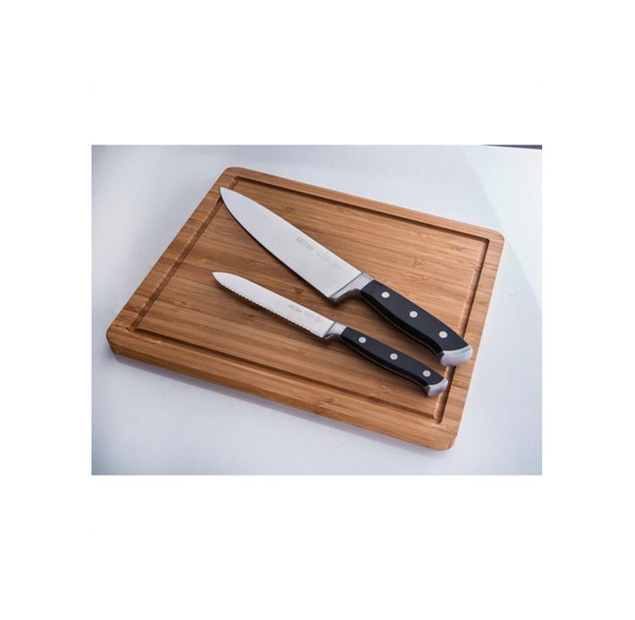סט סכינים 3 חלקים עם בוצ'ר מבית סולתם