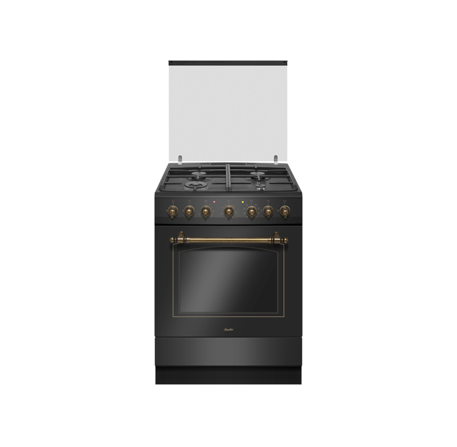 תנור משולב בעיצוב רטרו Sauter