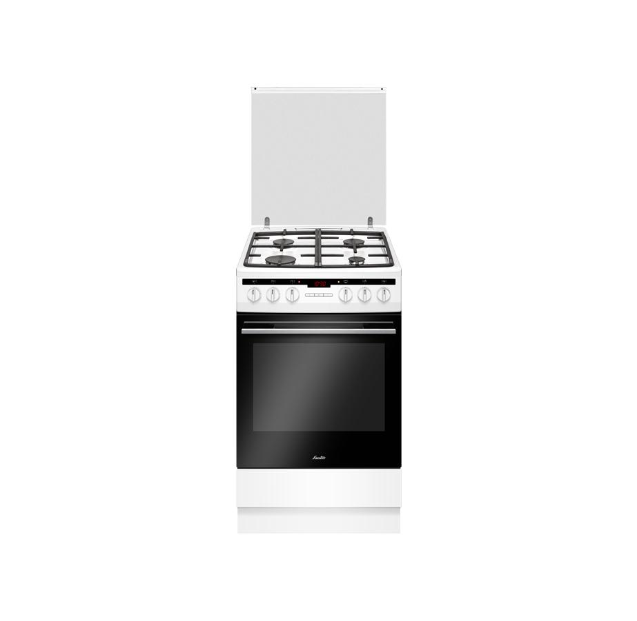 """תנור משולב צר 50 ס""""מ לבן Sauter"""