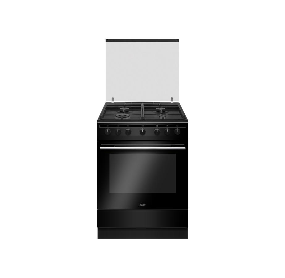 """תנור משולב 60 ס""""מ שחור Sauter"""