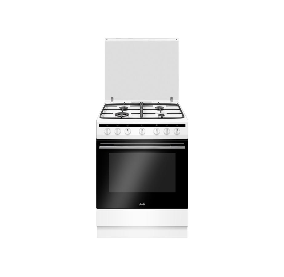 """תנור משולב 60 ס""""מ לבן Sauter"""
