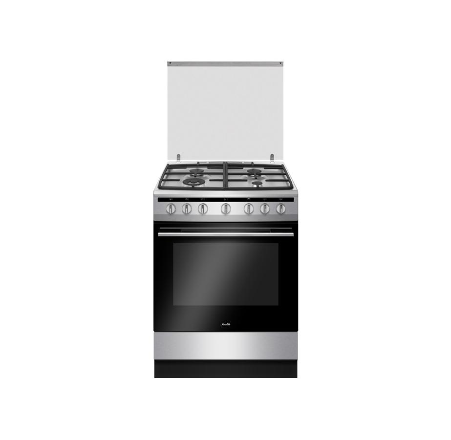 """תנור משולב 60 ס""""מ נירוסטה Sauter"""