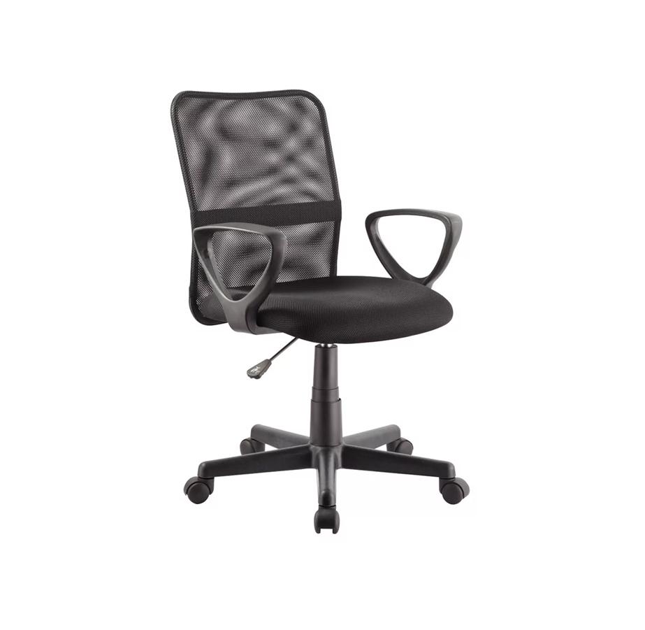 כיסא משרדי עם משענת גב HOME DECOR