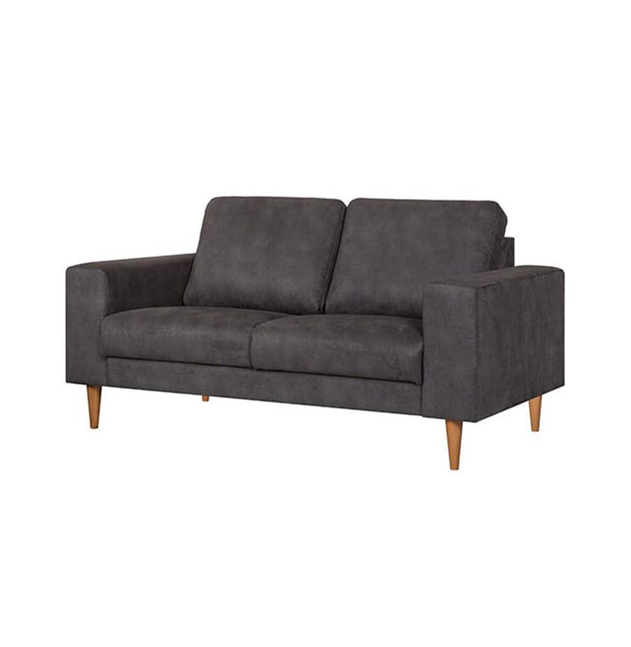 ספה דו-מושבית בגוון אפור