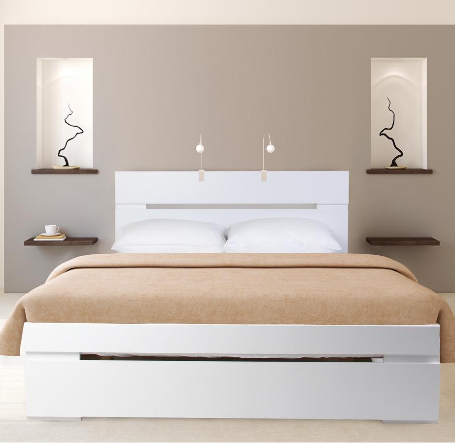 מיטה זוגית מעוצבת Olympia