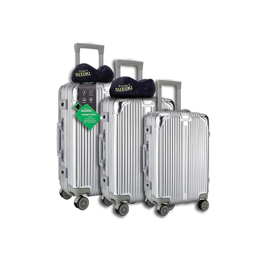 סט 3 מזוודות מבית SUZUKI ENERGY