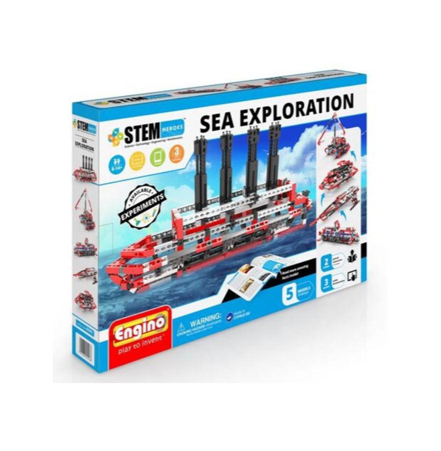 מערכת הרכבה חקר הים מבית ENGINO