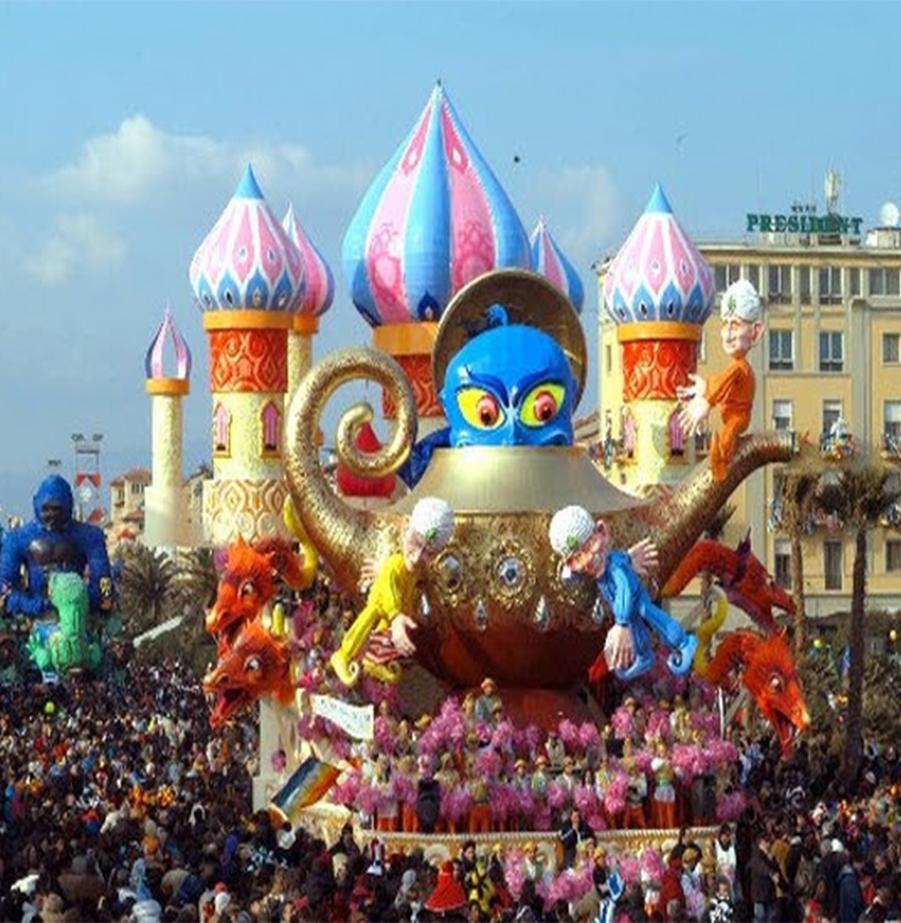 נופש צבעוני בונציה עם קרנבל המסכות!