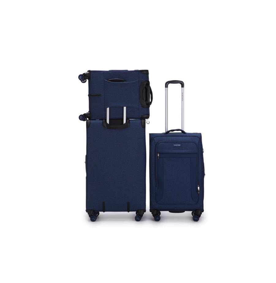סט 3 מזוודות בד פרימיום מבית SWISS