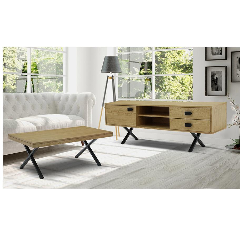 מזנון ושולחן לסלון רהיטי שמרת הזורע