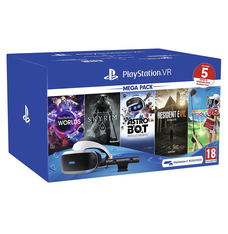 ערכת 2 Playstation VR Mega Pack