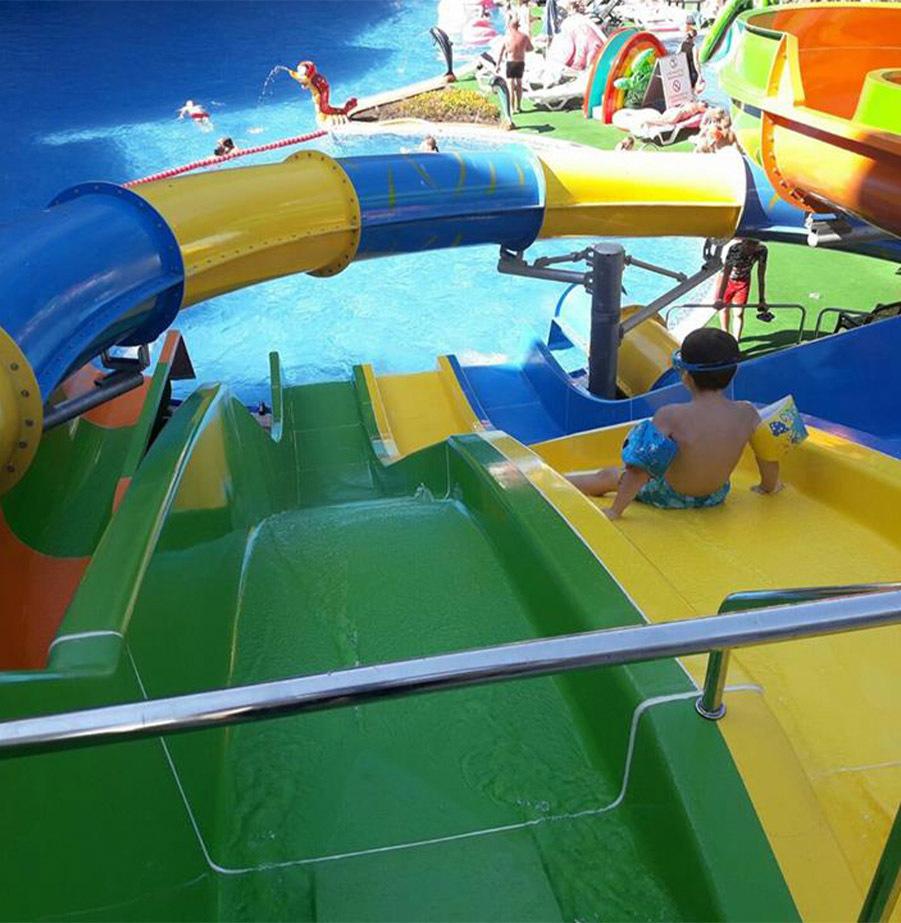 מאי יוני הכול כלול עם פארק מים בורנה