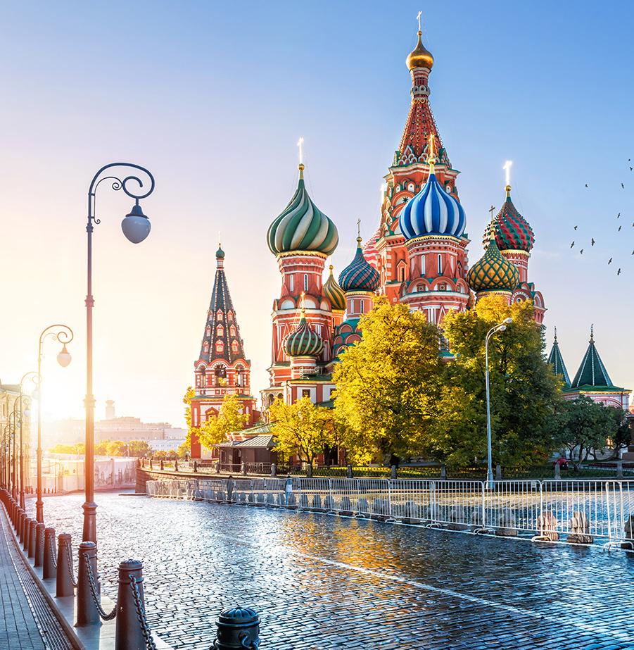 מאורגן 8 ימים למוסקבה וסנט פטרסבורג