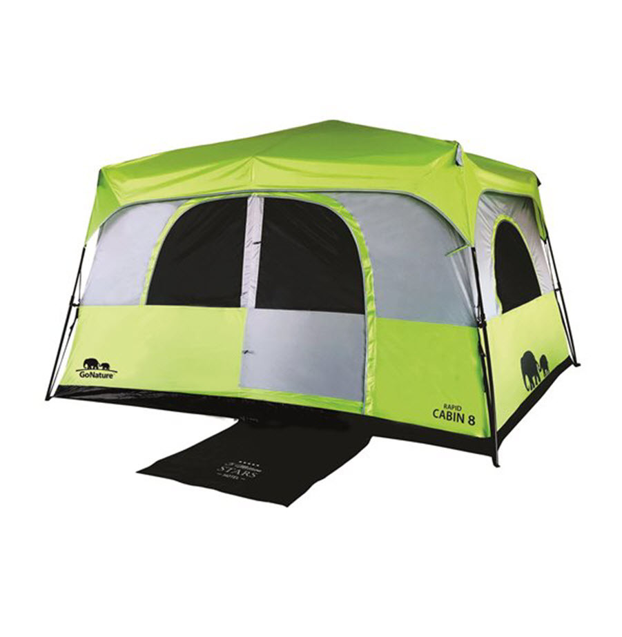 אוהל משפחתי ל- 8 אנשים  מבית GO NATURE