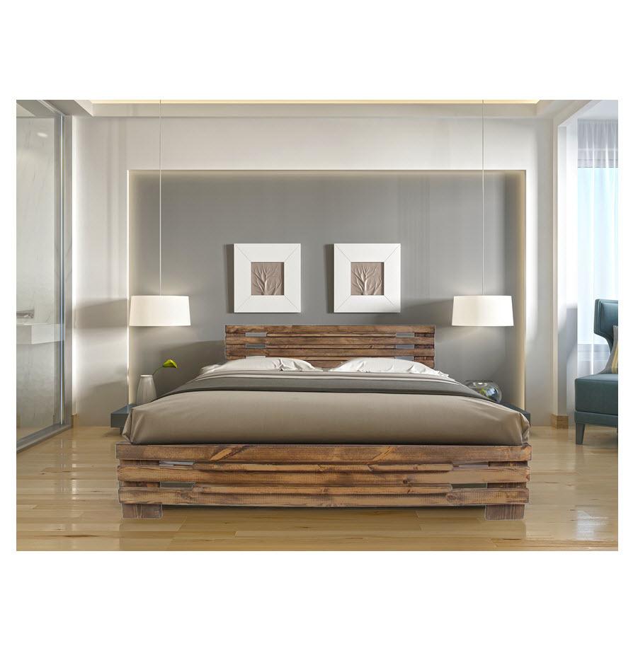 מיטה זוגית מעץ מלא מבית אולימפיה