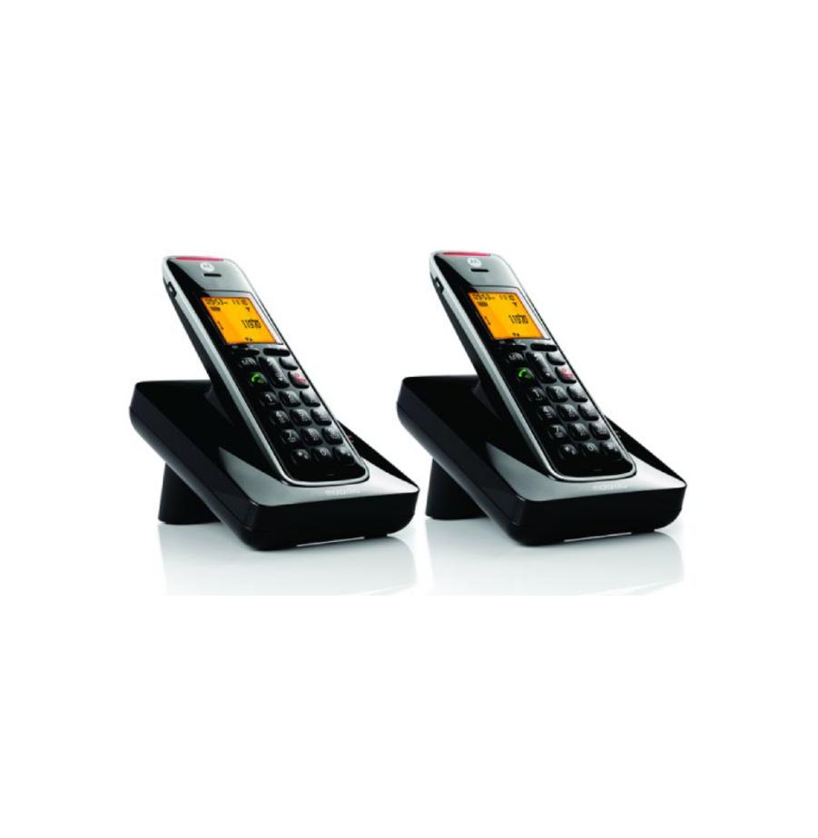 טלפון אלחוטי Motorola CD202IL שחור