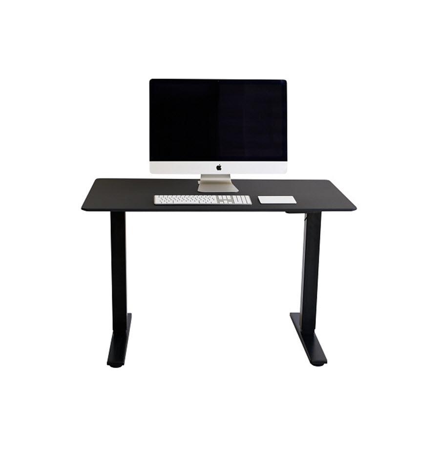 שולחן פנאומטי שחור