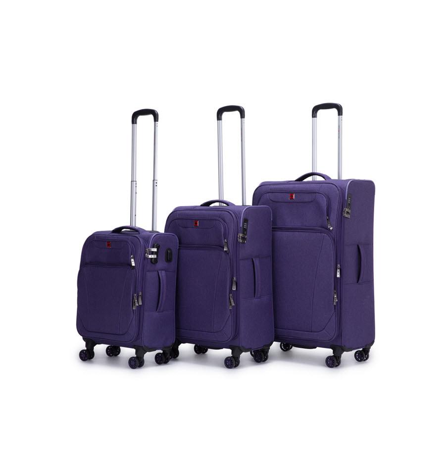 מזוודות סגול