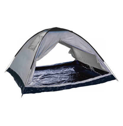 אוהל משפחתי ל-4 אנשים CAMPTOWN