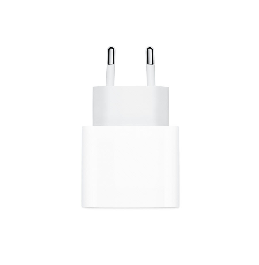 מטען מקורי Apple - 20W USB-C Power Adapter / White אפל