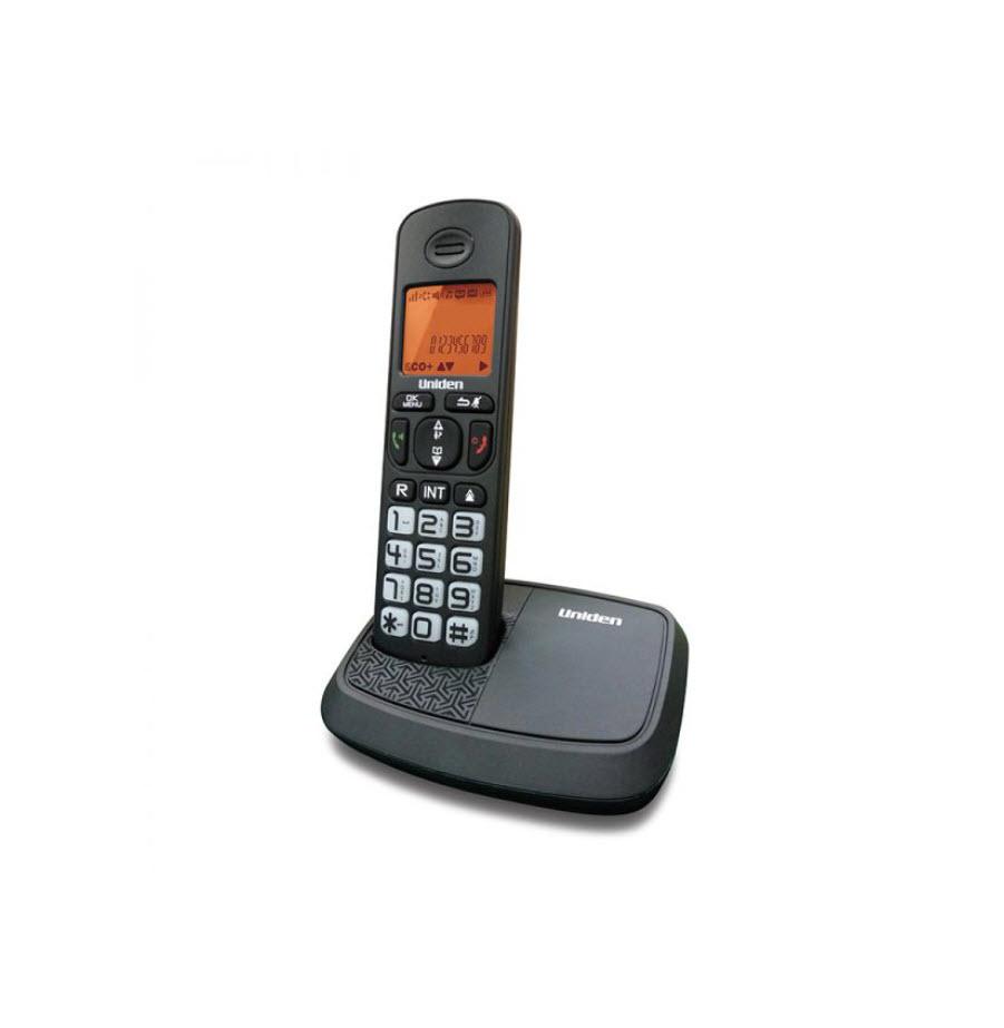 טלפון אלחוטי עם צג שיחה מזוהה ודיבורית Uniden