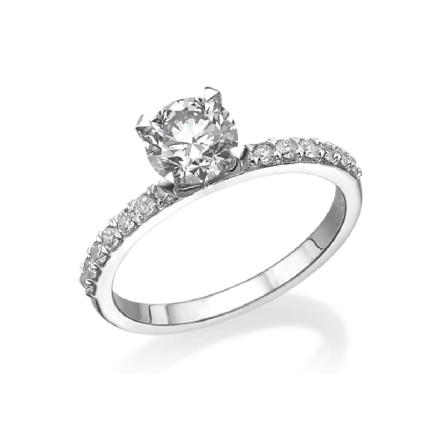 טבעת אירוסין מבית eDiamonds אי דיאמונדס