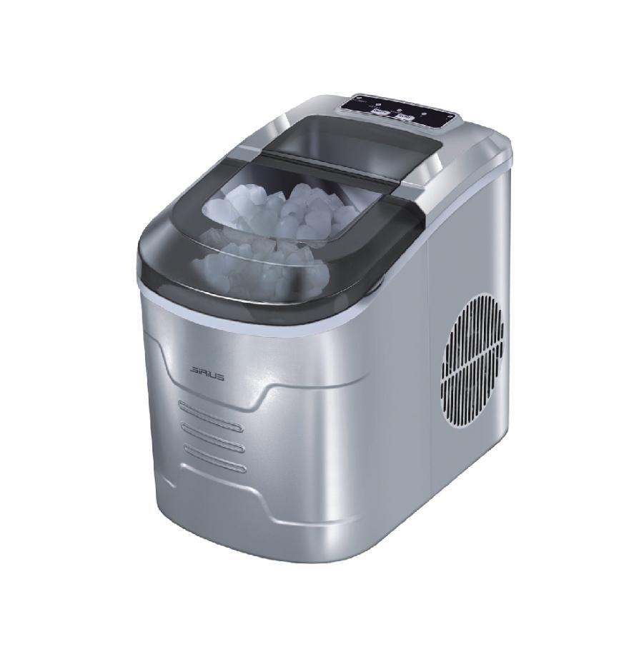 מכונת קרח ביתית ניידת עם מיכל מים גדול בנפח 2.2 ליטר SIRIUS LIVING