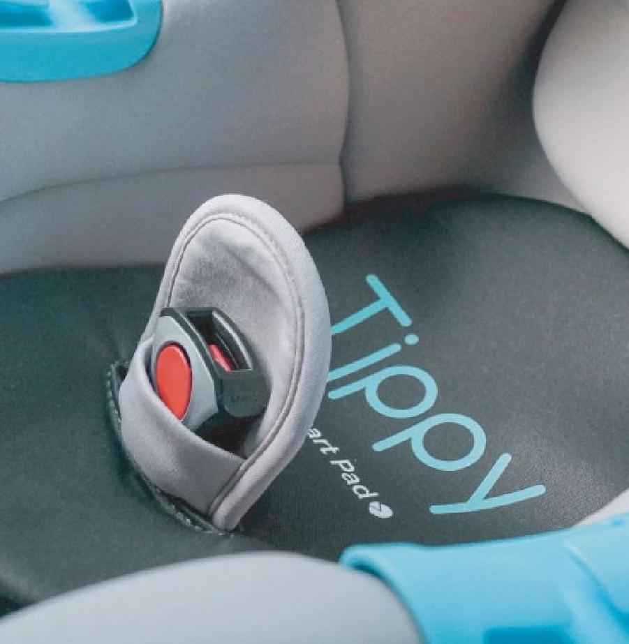 מכשיר לסיוע במניעת שיכחת תינוק ברכב Tippy Pad טיפי פד