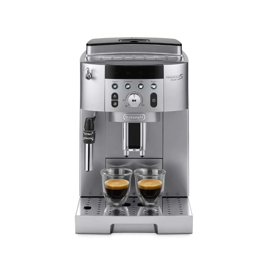 מכונת קפה אוטומטית כולל מטחנת קפה שקטה DeLonghi דלונגי