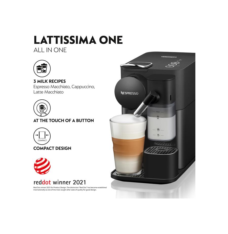 מכונת קפה נספרסו לטיסימה וואן NESPRESSO Lattissima One
