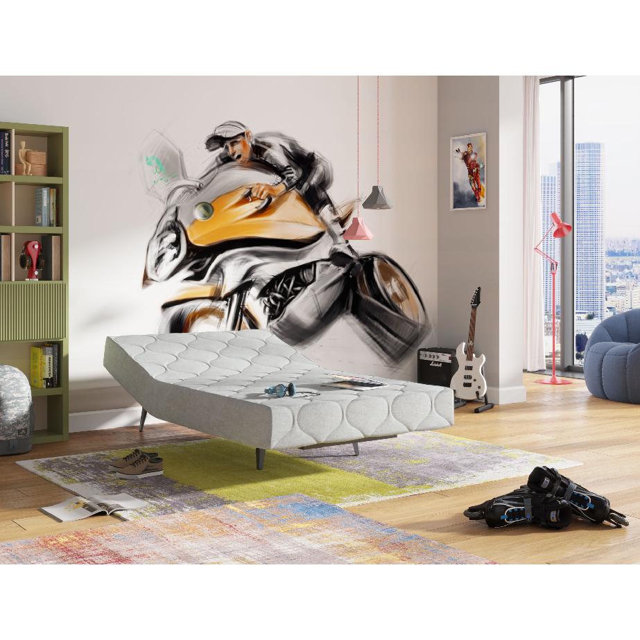 מיטת נוער מתכווננת כוללת מזרן מבית Hollandia הולנדיה